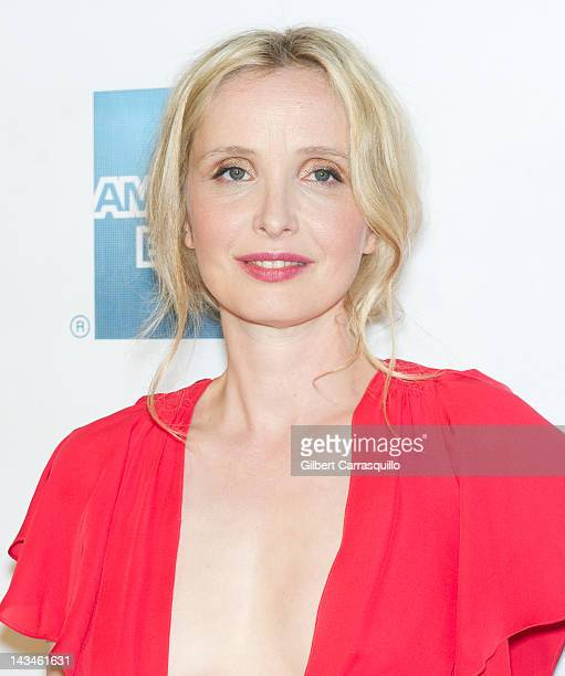 Actress Julie Delpy attends the 2 Days in New York premiere during the 2012 Tribeca Film Festival at BMCC Tribeca PAC on April 26 2012 in New York...