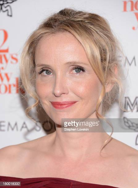 Actress Julie Delpy attends The Cinema Society special screening of Two Days In New York at Landmark Sunshine Cinema on August 8 2012 in New York City