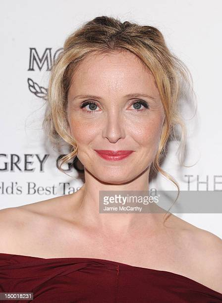 Actress Julie Delpy attends The Cinema Society with MCM Grey Goose screening of Magnolia Pictures' 2 Days in New York at Landmark's Sunshine Cinema...