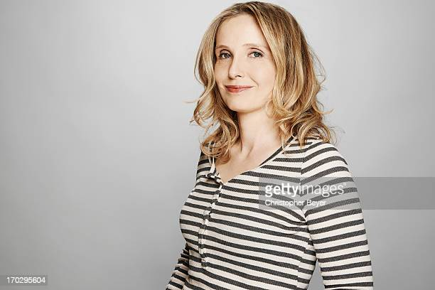Actress Julie Delpy is photographed for Entertainment Weekly Magazine on January 21 2013 in Park City Utah