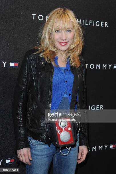 Actress Julie Depardieu attends the Tommy Hilfiger Champs Elysee flagship opening on November 17 2010 in Paris France