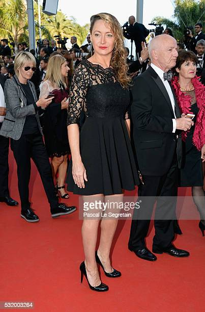 Actress Julie Ferrier attends the Julieta premiere during the 69th annual Cannes Film Festival at the Palais des Festivals on May 17 2016 in Cannes...