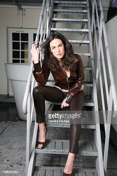 Actress Julie Fournier is photographed for Self Assignment on December 7 2009 in Paris France