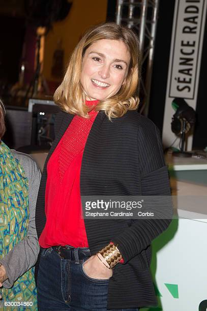 Actress Julie Gayet attends the 'Fete du Court Metrage' Opening Ceremony At Carreaux Du Temple on December 15 2016 in Paris France
