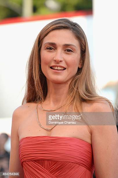 Actress Julie Gayet attends the Opening Ceremony and 'Birdman' premiere during the 71st Venice Film Festival at Palazzo Del Cinema on August 27 2014...