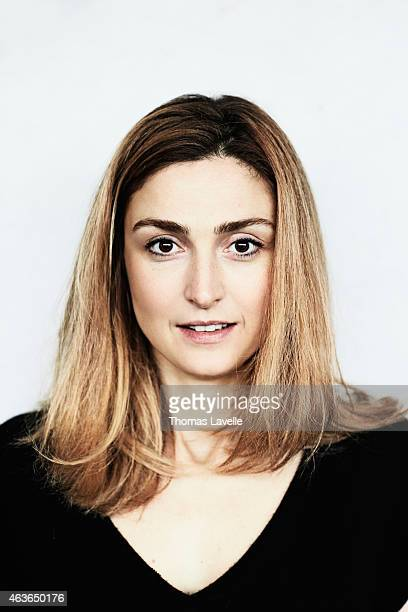 Actress Julie Gayet is photographed for Le Film Francais on January 13 2015 in Paris France