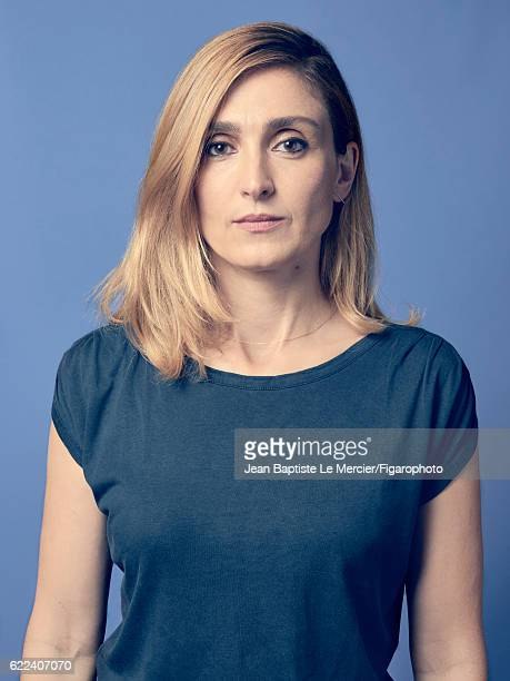 Actress Julie Gayet is photographed for Madame Figaro on September 8 2016 at the Toronto Film Festival in Toronto Canada CREDIT MUST READ Jean...