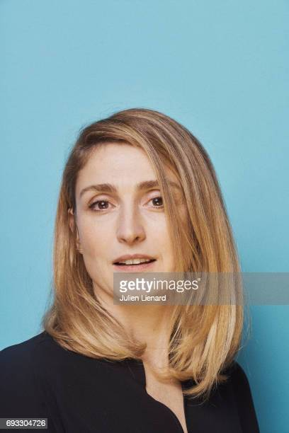 Actress Julie Gayet is photographed for Self Assignment on February 2 2017 in Paris France