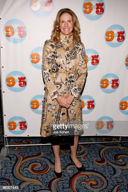 Actress Julie Hagerty attends the opening of 9 to 5 The Musical on Broadway at the Marriott Marquis Theatre on April 30 2009 in New York City