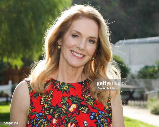 Actress Julie Hagerty visits Hallmark's 'Home Family' at Universal Studios Hollywood on November 16 2018 in Universal City California