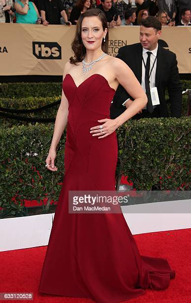 Actress Julie Lake arrives at the 23rd Annual Screen Actors Guild Awards at The Shrine Expo Hall on January 29 2017 in Los Angeles California
