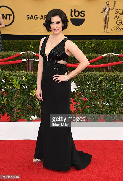 Actress Julie Lake attends the 21st Annual Screen Actors Guild Awards at The Shrine Auditorium on January 25 2015 in Los Angeles California