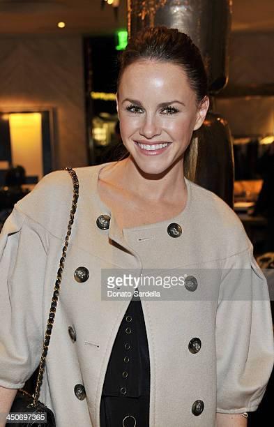 Actress Julie Marie Berman attends Kelly Wearstler for NKLA event on November 19 2013 in Los Angeles California