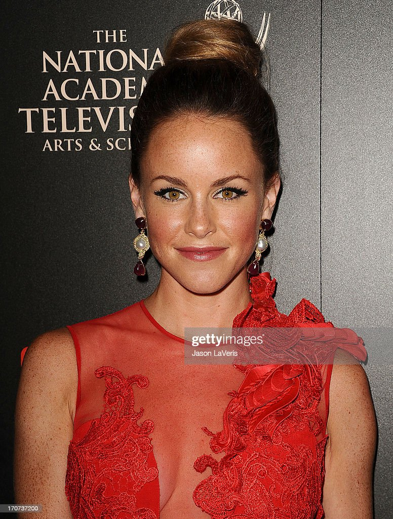 Actress Julie Marie Berman attends the 40th annual Daytime Emmy Awards at The Beverly Hilton Hotel on June 16, 2013 in Beverly Hills, California.