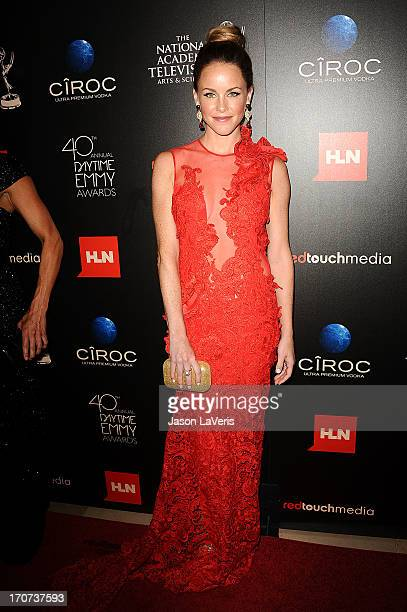 Actress Julie Marie Berman attends the 40th annual Daytime Emmy Awards at The Beverly Hilton Hotel on June 16 2013 in Beverly Hills California