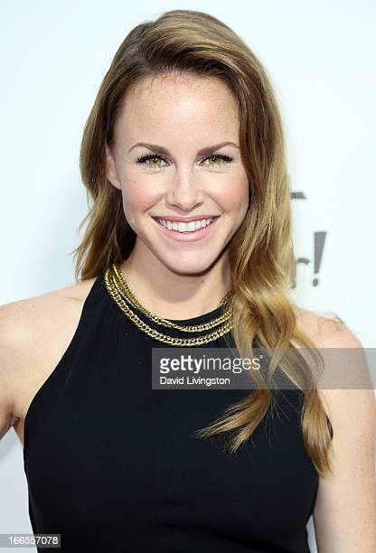 """Actress Julie Marie Berman attends the """"What A Pair!"""" benefit concert at The Broad Stage on April 13, 2013 in Santa Monica, California."""
