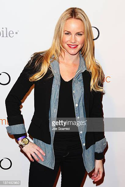 Actress Julie Marie Berman attends T-Mobile presents Google Music at TAO, a nightlife event at the Sundance Film Festival, held at T-Mobile Google...