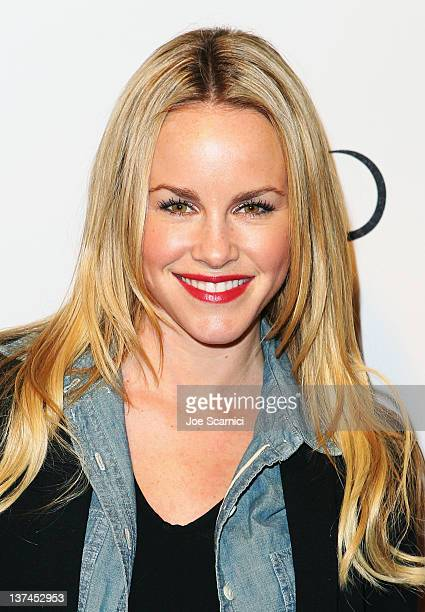 Actress Julie Marie Berman attends TMobile presents Google Music at TAO a nightlife event at the Sundance Film Festival held at TMobile Google Music...