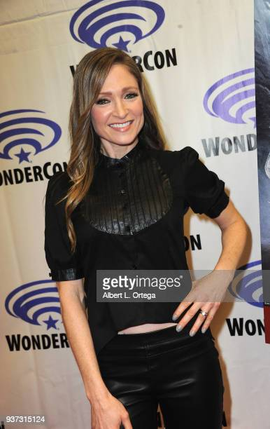 Actress Julie Nathanson attends Day 1 of WonderCon held at Anaheim Convention Center on March 23 2018 in Anaheim California