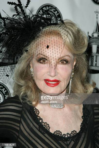 Actress Julie Newmar attends the Academy of Magical Arts Awards at the Beverly Hilton Hotel on April 5 2008 in Beverly Hills California