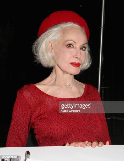 Actress Julie Newmar attends the Amazing Las Vegas Comic Con at the Las Vegas Convention Center on June 24 2017 in Las Vegas Nevada