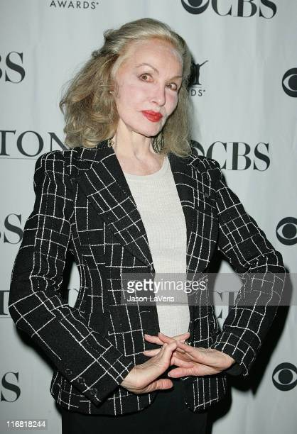 Actress Julie Newmar attends The Tonys Go Hollywood at Cafe La Boheme on April 3 2008 in West Hollywood California