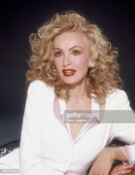 Actress Julie Newmar poses for a portrait in 1988 in Los Angeles California