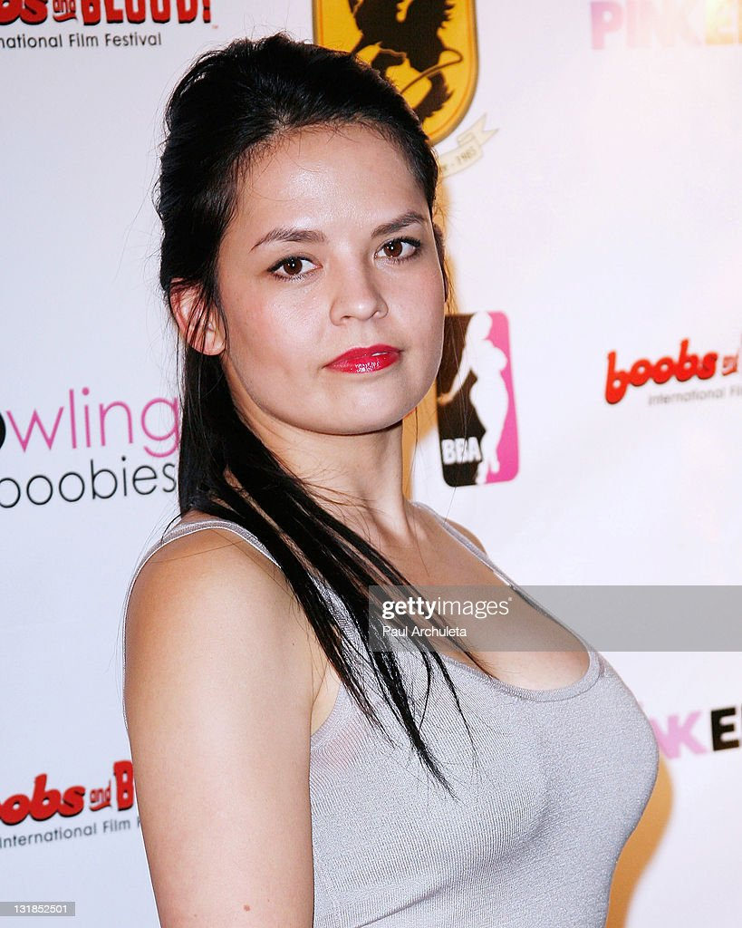 Actress Patty Jo Engels arrives at the Nude Nuns With Big