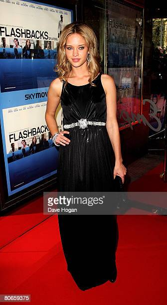 Actress Julie Ordon arrives at the UK premiere of 'Flashbacks of a Fool' at the Empire cinema Leicester Square on April 13 2008 in London England