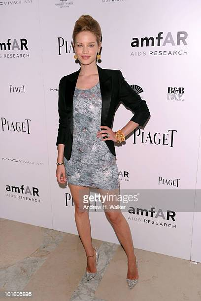 Actress Julie Ordon attends the 2010 amFAR New York Inspiration Gala at The New York Public Library on June 3 2010 in New York City