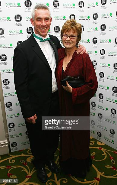 Actress Julie Walters and her husband Grant Roffey arrive at the Awards Of The London Film Critics' Circle at the Grosvenor House Hotel on February 8...