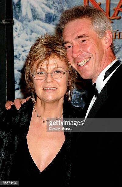 Actress Julie Walters and her husband Grant Roffey arrive at the Royal Film performance and world premiere of The Chronicles Of Narnia at the Royal...