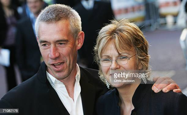 Actress Julie Walters and her husband Grant Roffey arrive at the Wah Wah UK Premiere at the Odeon Leicester Square on May 30 2006 in London England