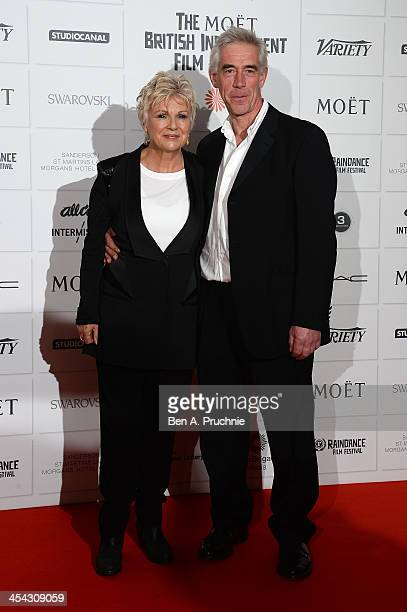 Actress Julie Walters and her husband Grant Roffey arrive on the red carpet for the Moet British Independent Film Awards at Old Billingsgate Market...