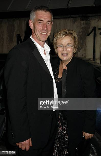 Actress Julie Walters and her husband Grant Roffey attend the after party following the UK premiere of ''Driving Lessons'' at Hedges and Butler on...