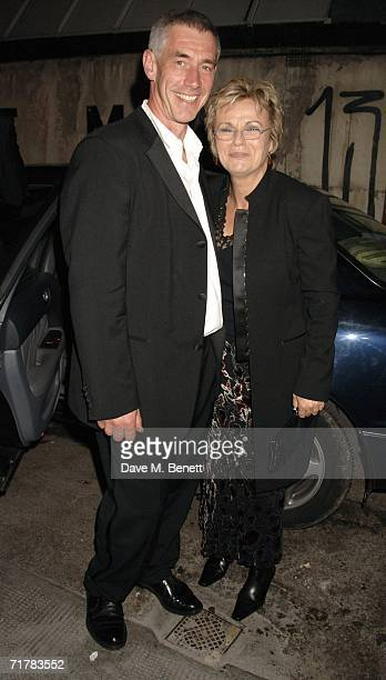 Actress Julie Walters and her husband Grant Roffey attend the after party following the UK premiere of ''Driving Lessons,'' at Hedges and Butler on...