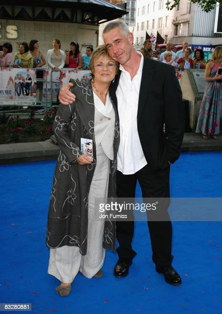 Actress Julie Walters and her husband Grant Roffey attend the Mamma Mia The Movie world premiere held at the Odeon Leicester Square on June 30 2008...