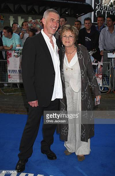 Actress Julie Walters and husband Grant Roffey arrive at the World Premiere of Mamma Mia! The Movie at the Odeon Leicester Square on June 30, 2008 in...