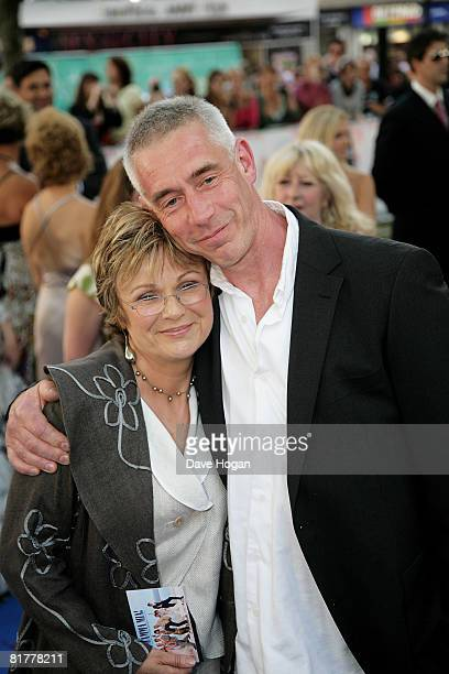 Actress Julie Walters and husband Grant Roffey arrive at the World Premiere of Mamma Mia The Movie at the Odeon Leicester Square on June 30 2008 in...