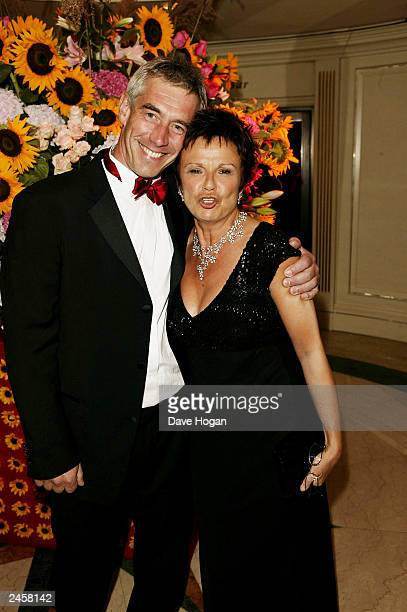 Actress Julie Walters and husband Grant Roffey attend the party for the 'Calendar girls' Premiere at Grosvenor House Hotel on September 2 2003 in...