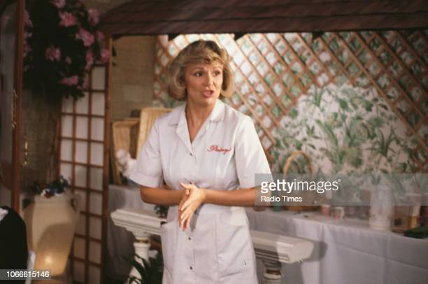 Actress Julie Walters in a scene from episode 'Mens Sana in Thingummy Doodah' of the BBC television series 'Victoria Wood' October 22nd 1989