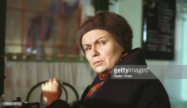 Actress Julie Walters in a scene from the BBC television special 'Victoria Wood's All Day Breakfast' December 6th 1992