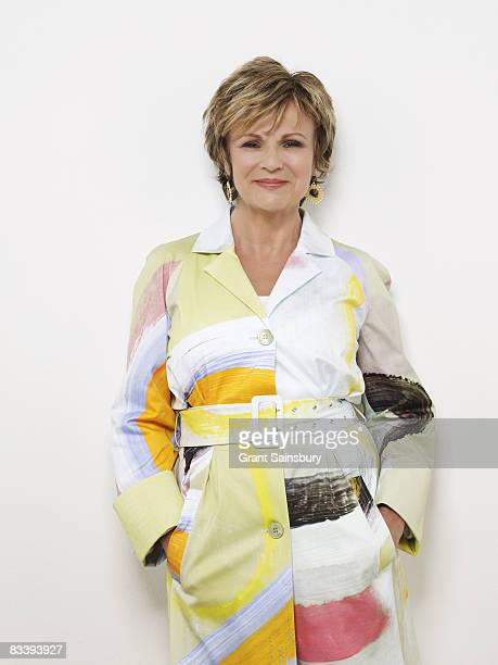 Actress Julie Walters poses for a portrait shoot in London for Good Housekeeping magazine on April 18 2008