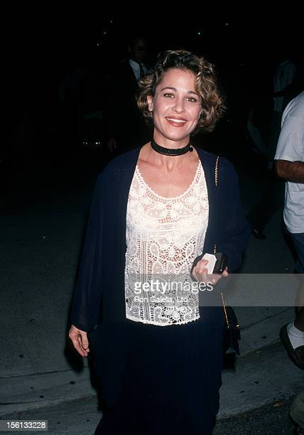 Actress Julie Warner attending the world premiere of 'Malice' on September 29 1993 at the Academy Theater in Beverly Hills California