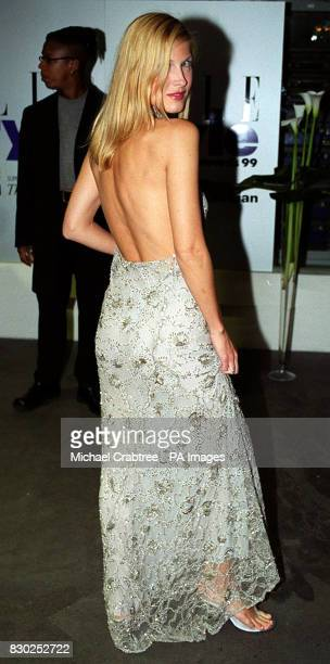 Actress Julienne Davis arrives at the Elle Magazine Style awards ceremony at the Home nightclub London