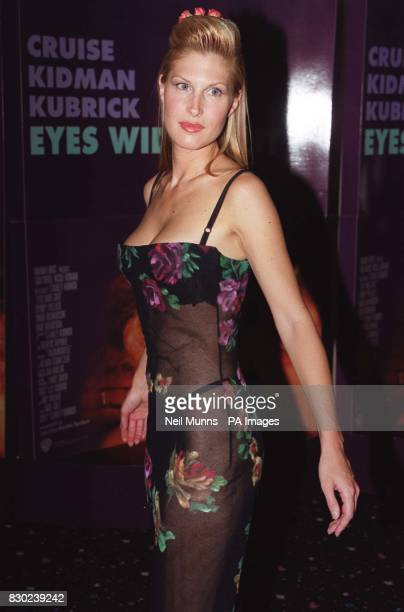 Actress Julienne Davis at the premiere of the film 'Eyes Wide Shut' directed by the late Stanley Kubrick and starring Tom Cruise and Nicole Kidman at...