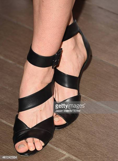 Actress Juliet Rylance attends the 15th Annual AFI Awards at Four Seasons Hotel Los Angeles at Beverly Hills on January 9 2015 in Beverly Hills...