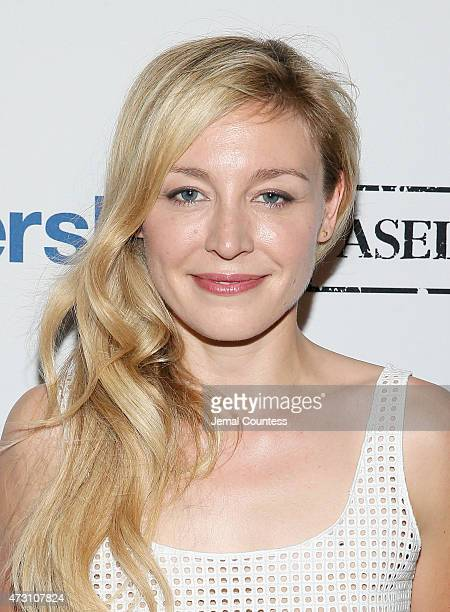 Actress Juliet Rylance attends the 2015 Gersh Upfronts Party at Asellina at the Gansevoort on May 12 2015 in New York City