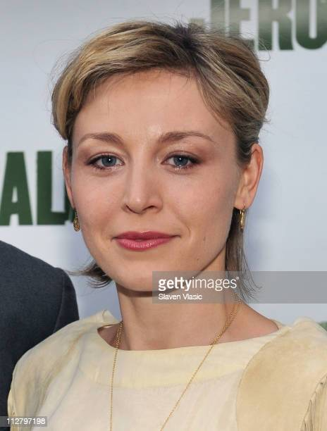 Actress Juliet Rylance attends the opening night of Jerusalem on Broadway at The Music Box Theatre on April 21 2011 in New York City