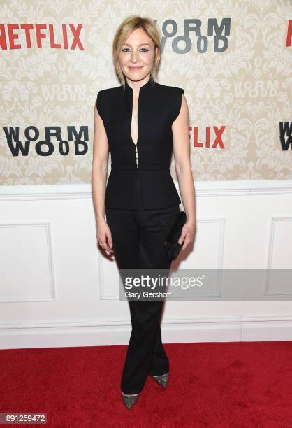Actress Juliet Rylance attends the 'Wormwood' New York premiere on December 12 2017 in New York City
